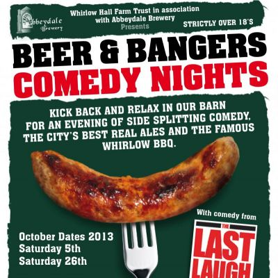 Beer and Bangers at Whirlow Hall Farm Trust