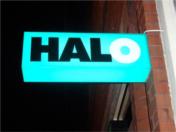 projecting shop sign Sheffield