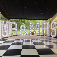 GIANT LIGHT UP LETTERS for hire